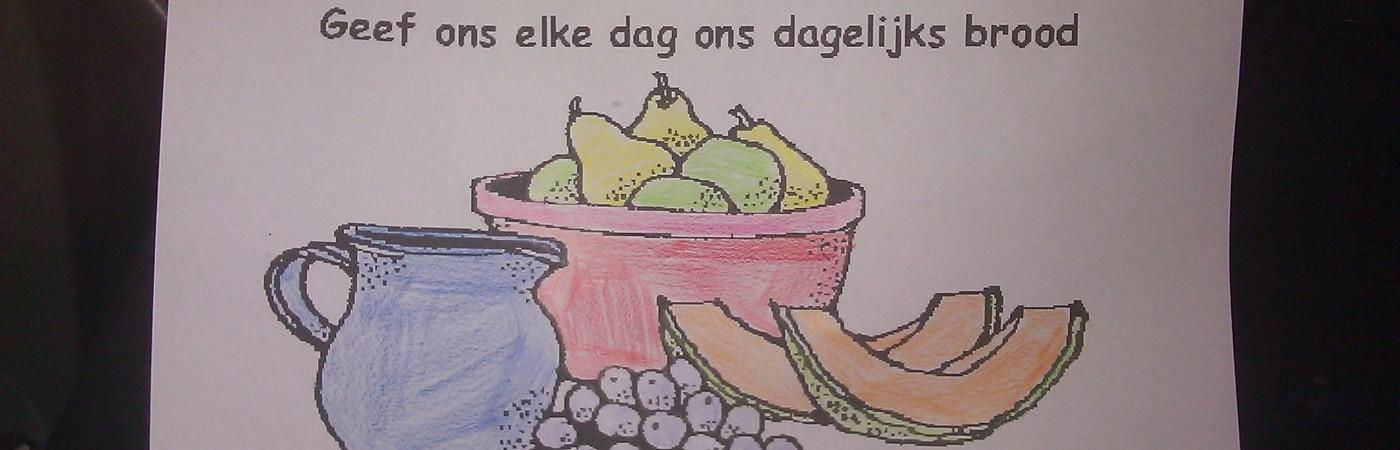 Kleurplaat Bas Dankdag 2014